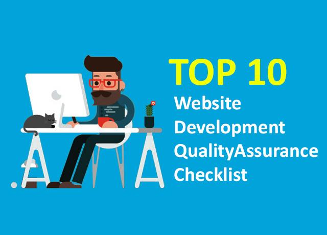 Top 10 website development quality assurance checklist | digital googly