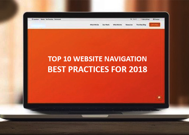 Top 10 Website Navigation Best Practices For 2018 | Digital Googly