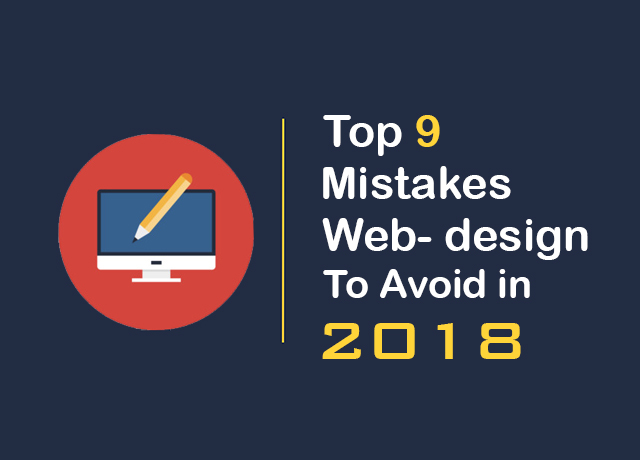 top 9 web design mistakes | digital googly