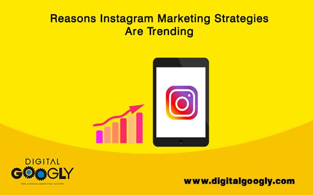 Reasons Instagram Marketing Strategies Are Trending